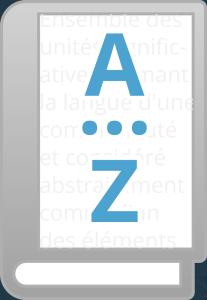 Logo de la chaîne éditoriale Lexique